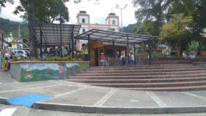 Cafe Mujer - en el parque principal de Cordoba