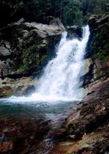 cascadas del rio verde - la linda