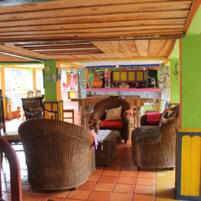Amplios y amables espacios para disfrutar y descansar